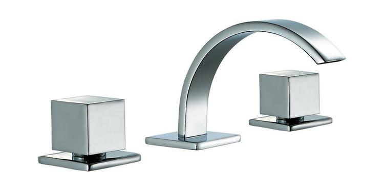 ALFI brand AB1326-PC Polished Chrome Modern Widespread Bathroom Faucet