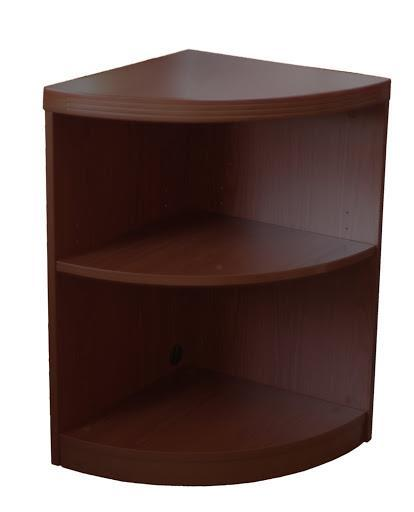 2 Shelf Quarter Round (1 fixed Shelf)