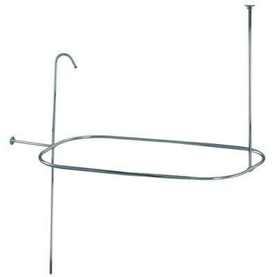 Kingston Brass Vintage Shower Ring and Riser Combination [Item # ABT1040-1]
