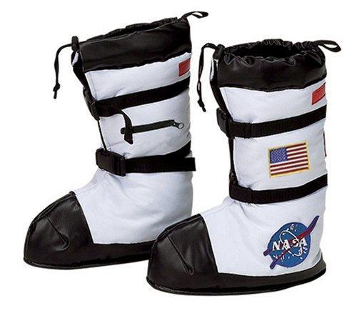 Astronaut Boots, White - Medium