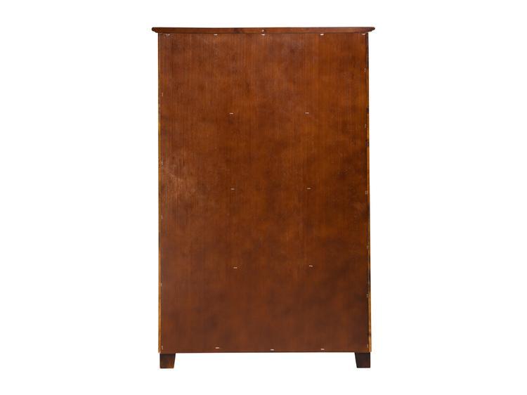 Atlantic Furniture 4 Drawer 48 inch Chest Walnut