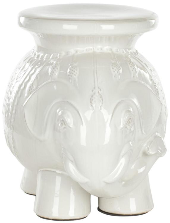 Ceramic Elephant Stool