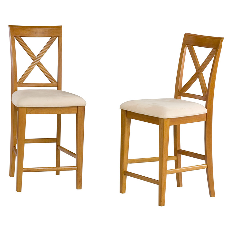 Lexington Pub Chairs (set of two) w/ Seat Cushions