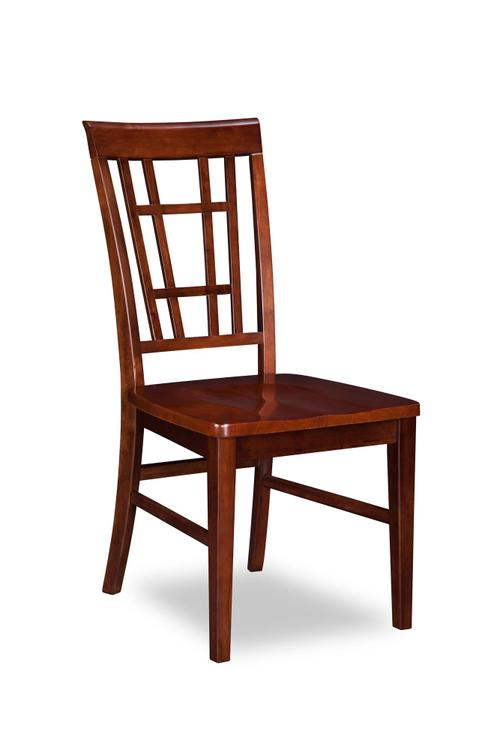 Montego Bay Dining Chairs Set of 2 with Wood Seat