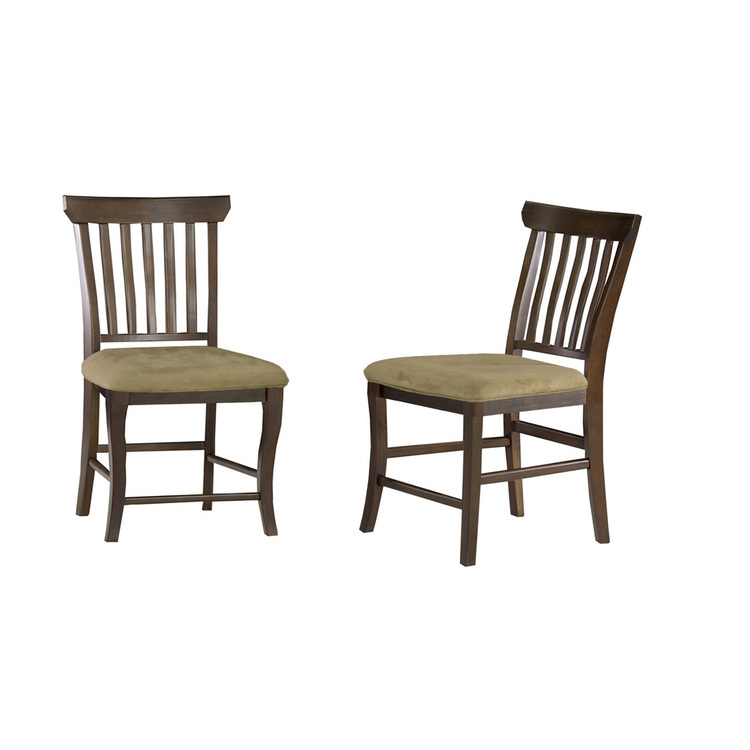 Venetian Dining Chairs (set of two) w/ Seat Cushions