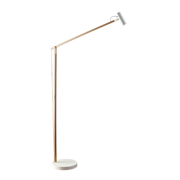 ADS360 Crane LED Floor Lamp- Gold