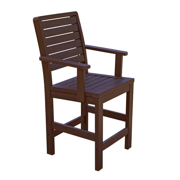 Highwood Furniture Weatherly Counter Armchair