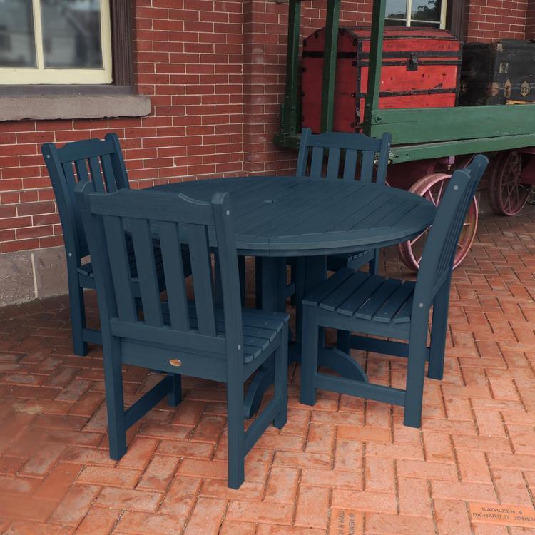 Highwood Furniture Lehigh 5pc Round Dining Set