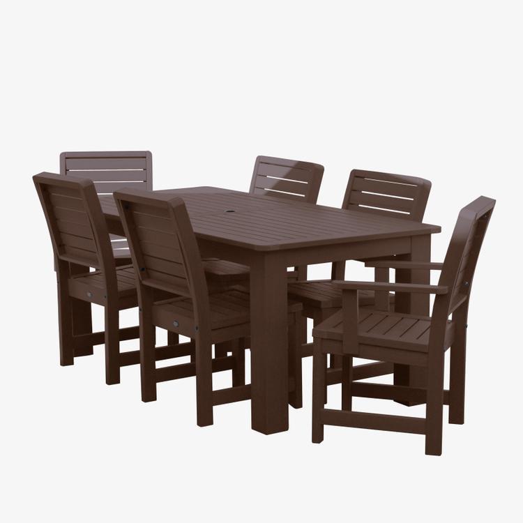 Weatherly 7 Piece Dining Set