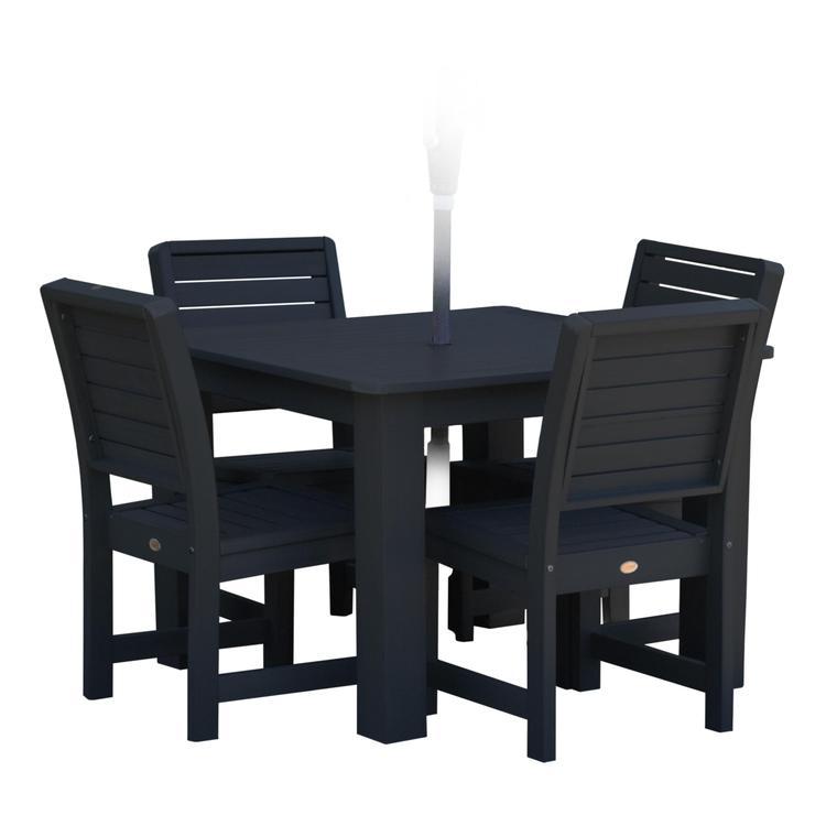 Highwood Furniture Weatherly 5pc Square Dining Set