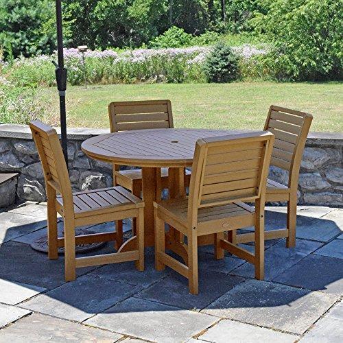 Highwood Furniture Weatherly 5pc Round Dining Set