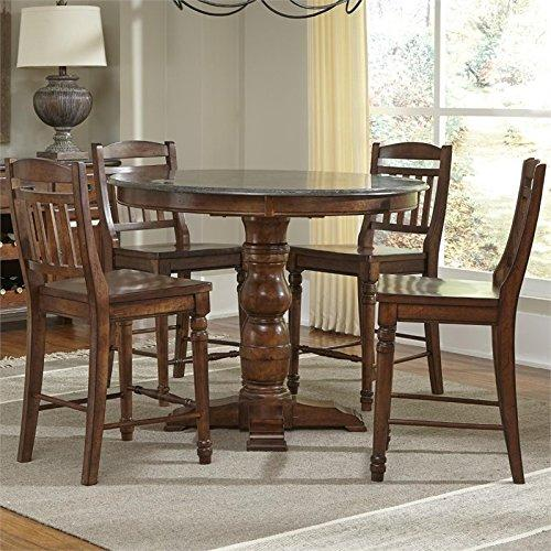 A-America Andover Dining Gathering Height Dining Set (Table/4(365K) [Item # ADA623655]