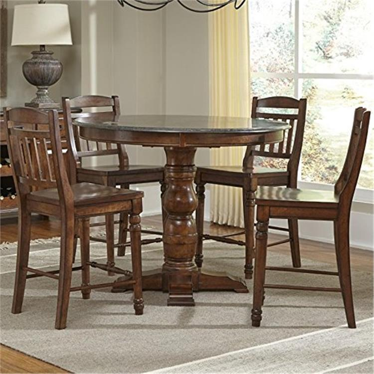 Andover Dining Gathering Height Dining Set (Table/4(365K)