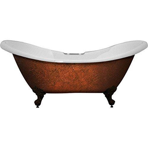 Acrylic Slipper Clawfoot Bathtub 70?x30