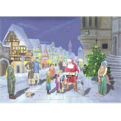 ADVENT-VILLAGE-SANTA   EACH [Item # ADV70115]
