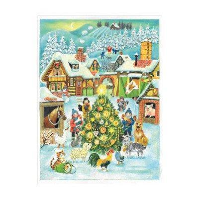 ADVENT-CHRISTMAS FARM  EACH