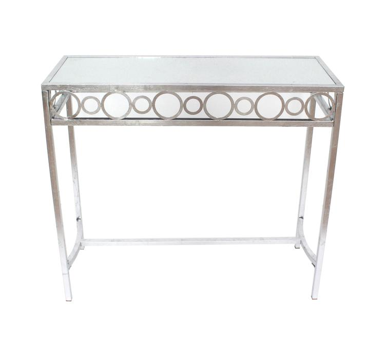 Teton Home Metal Console Table
