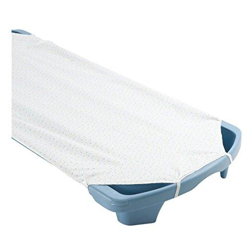 Angels Rest White Cot Sheet  Toddler Size