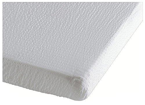 Organic White Fitted Crib Sheet