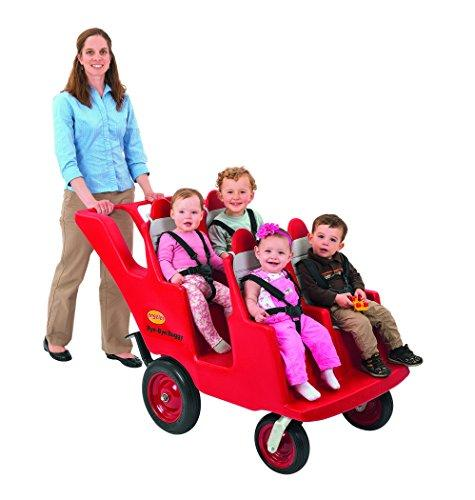Children's Factory 4 Passenger Never Flat Bye-Bye Buggy