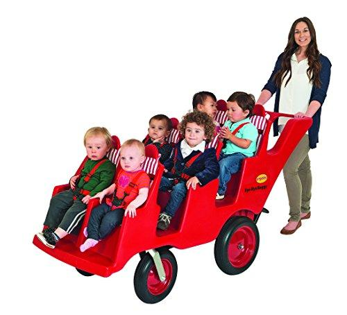 Children's Factory 6 Passenger Never Flat Bye-Bye Buggy