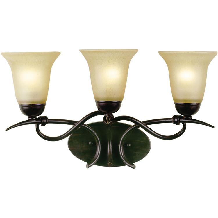 Af Lighting Santa Fe Three Light Vanity
