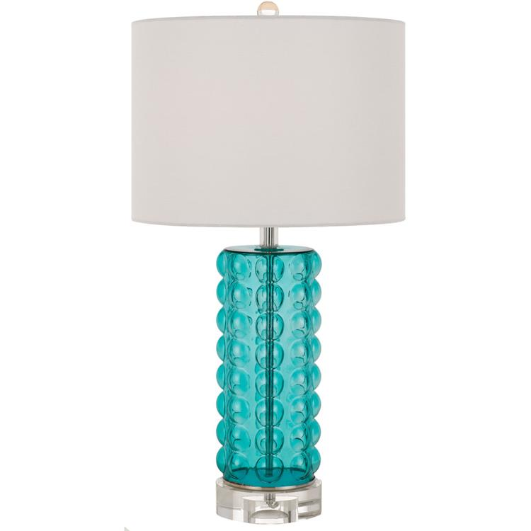 Fizz Table Lamp In Silver Mercury