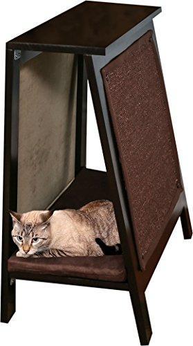 A-Frame Cat Bed - Espresso