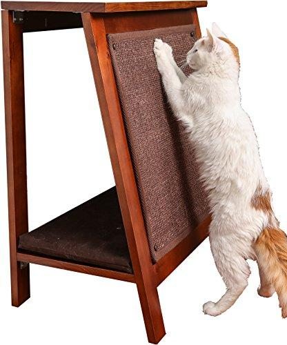 A-Frame Cat Bed - Mahogany