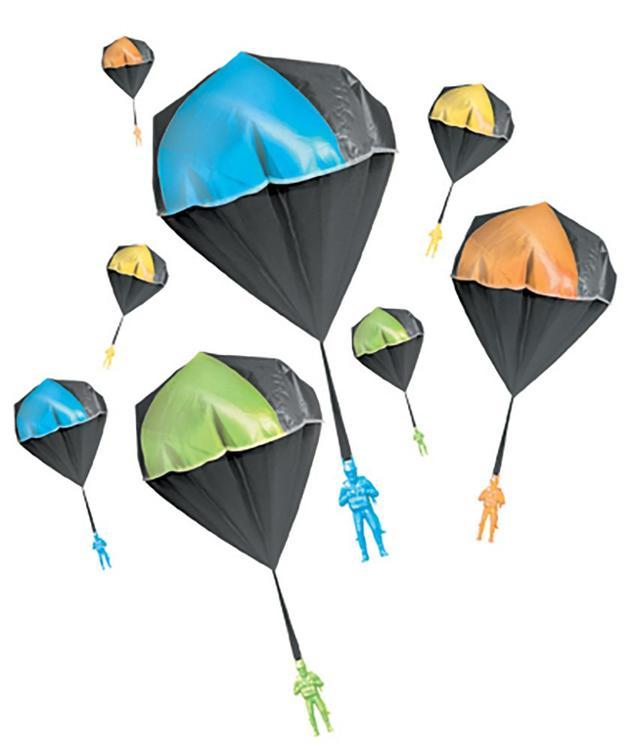 Aeromax 2000 Glow Toy Parachute