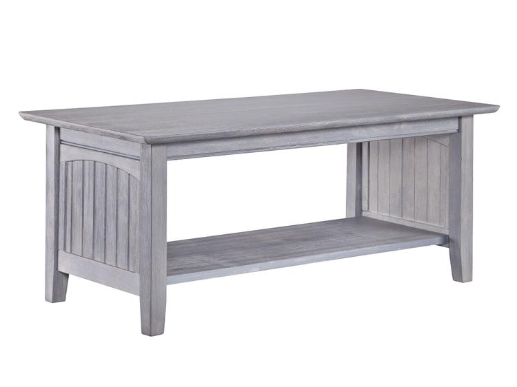 Atlantic Furniture Nantucket Coffee Table Driftwood