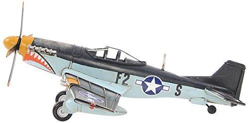 1943 Grey Mustang P51 1:40 [Item # AJ003]