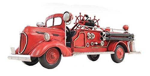 1938 Red Fire Engine Ford 1:40