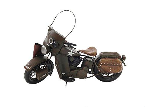 Old Modern Handicrafts 1942 WLA Model 1:12 Motor Cycle [Item # AJ023]