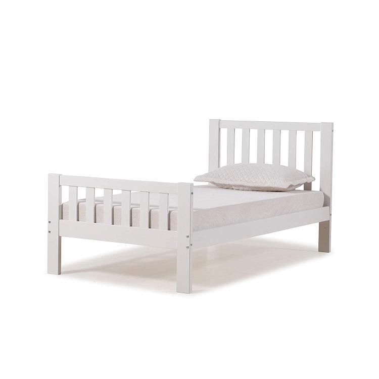 Bolton Furniture Aurora Twin Bed, White