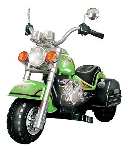 Harley Style Chopper Style Limited Edition Motorcycle - Green