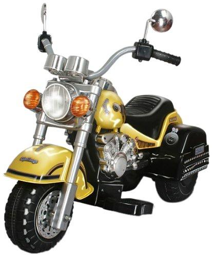 Harley Style Chopper Style Motorcycle - Yellow