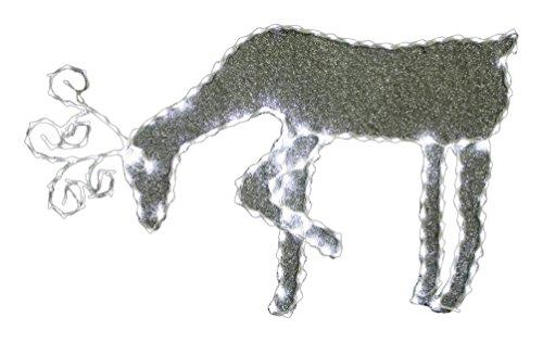 Grazing Reindeer W/ 144Pcs Led Lights & 8 Functions (Plug In