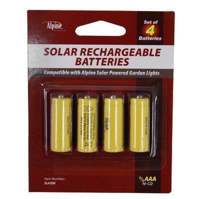 Replacement 2/3 Aaa Ni-Cd Batteries - 120Mah