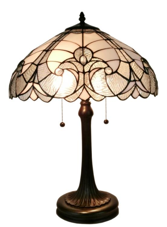 Amora Lighting Tiffany Style Table Lamp, 23-Inches Tall