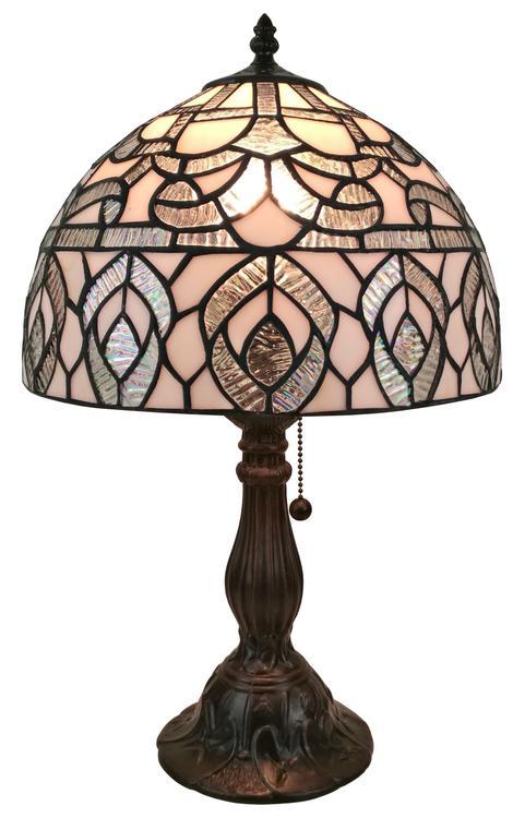 Amora Lighting AM276TL12 Tiffany Style Peacock Design Table Lamp