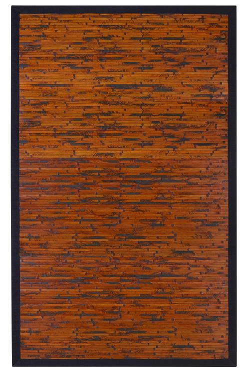 Anji Mountain Cobblestone Bamboo Rug
