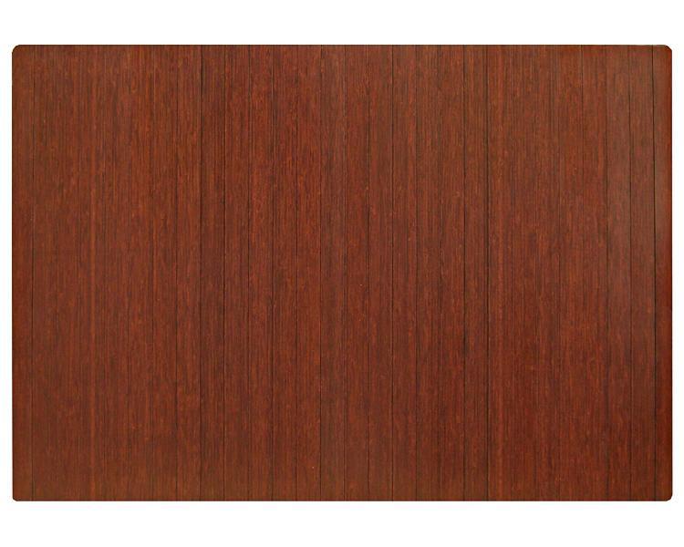 Anji Mountain Bamboo Roll-Up Chairmat, No Lip
