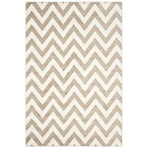 Contemporary Rug - Amherst Polypropylene -Wheat/Beige