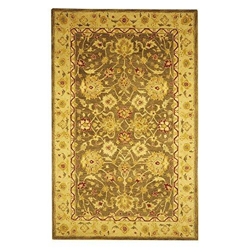 Traditional Rug - Anatolia Wool Pile -Olive Grey/Beige