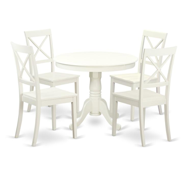 Kitchen Dining Set-Kitchen Table And 4 Chairs For Dining Room