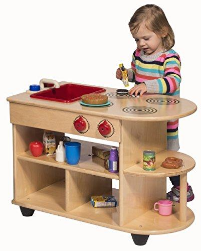 Value Line Birch Toddler 2-In-1Kitchen [Item # ANG9092]