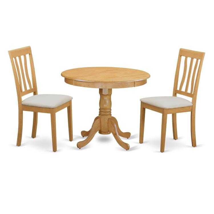 Kitchen Table Set - Table And 2 Dining Chairs