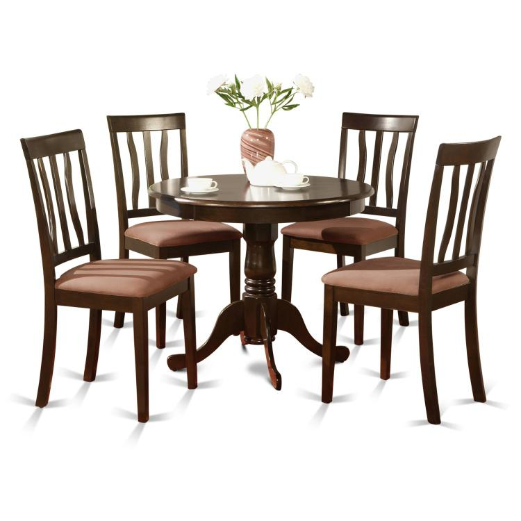 East West Furniture 5-Piece Kitchen Table Set [Item # ]