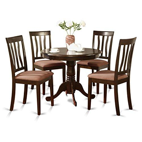 Kitchen Table Set-Kitchen Table And 4 Dining Chairs